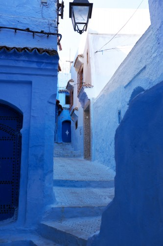 minimalized in Chefchaouen