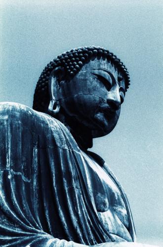 The famous Kamakura Daibutsu.