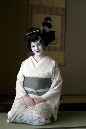 Portrait of Australian geisha, Sayuki, in Tokyo
