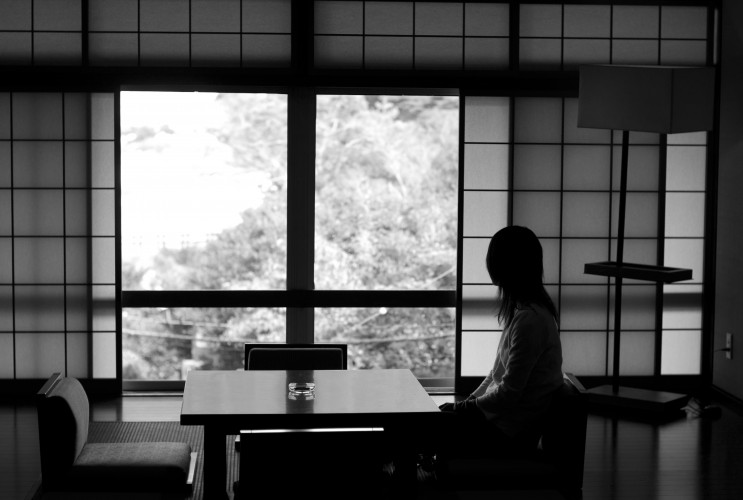 Relaxing at the Kyushu Hotel, Unzen Onsen, Nagasaki